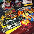 Anthrax, Nuclear Assault SOD patches and Godzilla