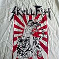 skull fist ride the beast T-shirt