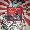 Battleaxe - Patch - Battleaxe Burn This Town woven patch