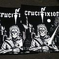 Crucifixion green eyes Backpatch