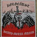 Holocaust - Patch - Holocaust - Heavy Metal Mania (woven patch)