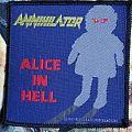 Annihilator - Patch - Annihilator - Alice In Hell (vintage patch)