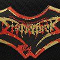 Dismember - Patch - Dismember - Indecent & Obscene (vintage/shaped patch)