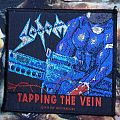 Sodom - Patch - Sodom - Tapping The Vein (vintage patch)