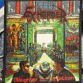 Exhorder - Patch - Exhorder - Slaughter In the Vatican(bootleg patch)