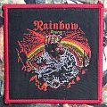 Rainbow - Patch - Rainbow - Rising (vintage/ red borders)