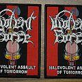 Violent Force - Patch - Violent Force - Malevolent Assault Of Tomorrow (bootleg)