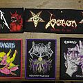 Metallica,Exumer,Venom and more for s-a-l-e Patch