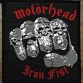Motörhead - Patch - Motörhead - Iron Fist (black borders)