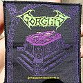 Gorguts - Considered Dead (Vintage patch)