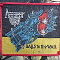 Accept - Patch - Accept - Balls To The Wall (vintage/red borders)