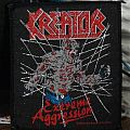 Kreator - Patch - Kreator - Extreme Aggression (vintage patch)