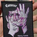 Coroner - Mental Vortex (Vintage patch/Black Borders)