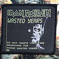 Iron Maiden - Patch - Iron Maiden - Wasted Years (vintage patch)