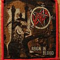 Slayer - Reign In Blood (vintage patch/red borders)