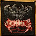 Benediction - Transcend the Rubicon (vintage patch)
