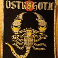 Ostrogoth - Ecstasy and Danger (woven patch)