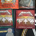 Metallica - Master of Puppets Patches