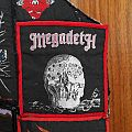 Megadeth vintage and original colour-bordered patches