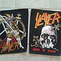 Patch - Slayer Backpatches (Show no Mercy / South of Heaven)