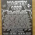 Wacken 1999 - Advertisement @ Rock Hard Magazine Other Collectable