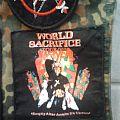 Slayer Patch - World Sacrifice Tour 1988