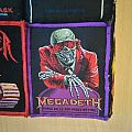 Megadeth - Peace sells... but who's buying (purple bordered patch)