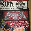 Metallica - Patch - Metallica - Creeping Death - Mini Stripe