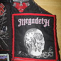 Megadeth - Patch - Megadeth - Killing is my Business, and Business is Good - Patch with red border