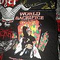 Slayer - Patch - Slayer - World Sacrifice Tour 1988 - Old Patch