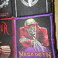 Megadeth - Patch - Megadeth - Peace Sells...But Who's Buying - Patch with purple border