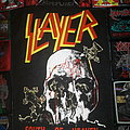 Slayer - Patch - Slayer - South of Heaven - Old Bootleg Back Patch