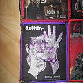 Coroner - Patch - Coroner - Mental Vortex - Patch with purple border