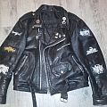 "My leather ""black metal"" jacket"