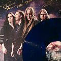Other Collectable - wintersun time I blue vinyl signed by the band