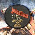 "JUDAS PRIEST ""Killing Machine"" vintage circle patch"