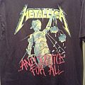 TShirt or Longsleeve - Metallica ...and Justice for All shirt