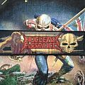 Nuclear Assault Game Over/Survive woven bootleg 2014 Patch