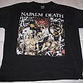 NAPALM DEATH Campaign for Musical Destruction Tour 1992 T Shirt -- EUROPE