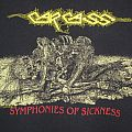 CARCASS 1990 Symphonies of Sickness T Shirt - Official Earache Vers.