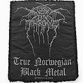 Darkthrone TNBM Embroidered Patch - Small size.