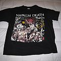 NAPALM DEATH Campaign for Musical Destruction Tour 1992 T Shirt -- USA