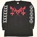 Mayhem - TShirt or Longsleeve - MAYHEM 1996 Red Logo Longsleeve Shirt XL