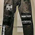 Crust Punk Levi's 501 Jeans worn from from 1998 to 2020 Other Collectable