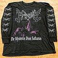 Mayhem - TShirt or Longsleeve - MAYHEM 1994 First Edition De Mysteriis Dom Sathanas LS Shirt XL/2XL