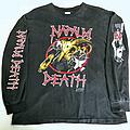 Napalm Death - TShirt or Longsleeve - Napalm Death vintage early 90's longsleeve