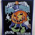 Helloween 'drunk pumpkin' bootleg patch.