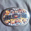 Helloween belt buckle.