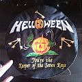 Helloween - Patch - Helloween embroidered round backpatch.