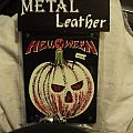 Helloween - Patch - Vintage Helloween leather patch.